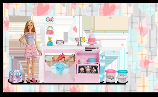 1 db Barbie: Álom cukrászműhely