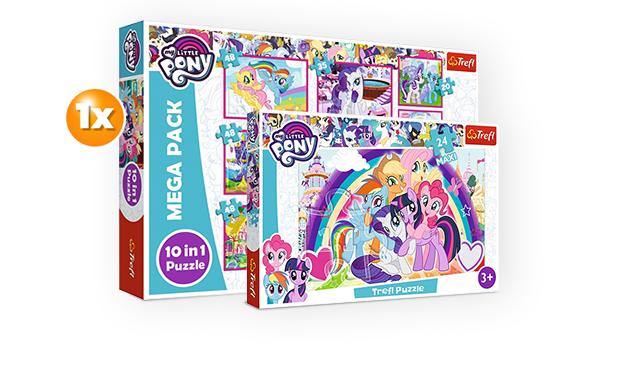 My Little Pony puzzle szett